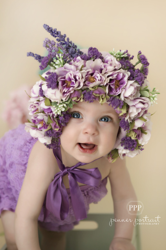 Flower babies {Drayton Family Photographer}